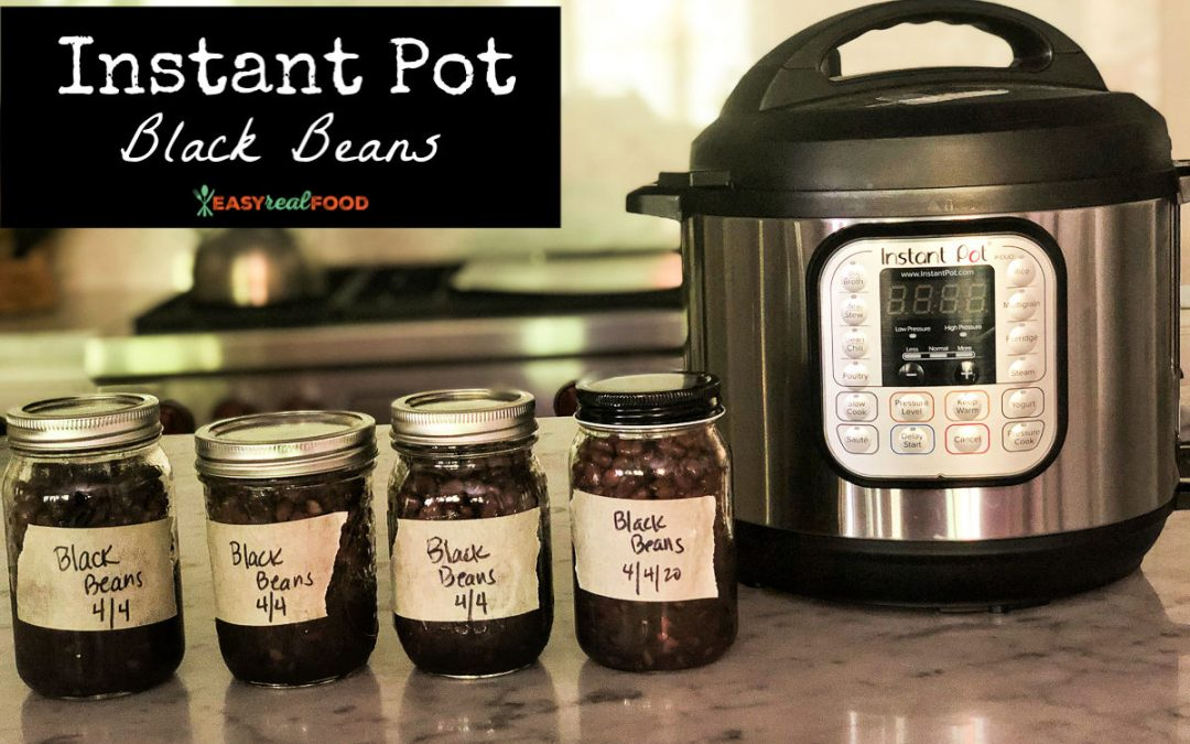 Instant Pot Black Beans: Eat Healthy and Save Money!