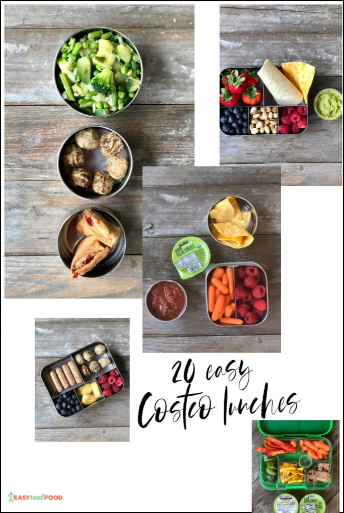 20 easy costco lunches