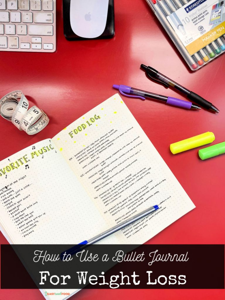 How to Use a Bullet Journal For Weight Loss