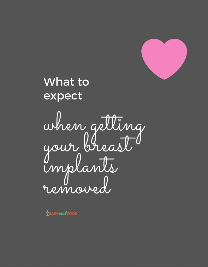what to expect when getting your breast implants removed