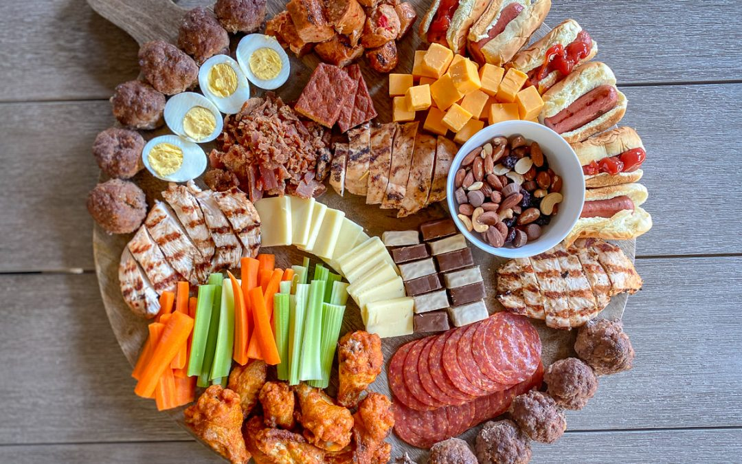 How to Build an Epic Protein Charcuterie Board