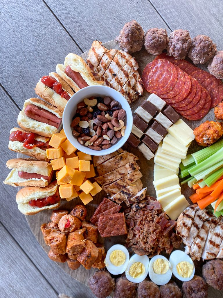 protein board - perfect for Father's Day!