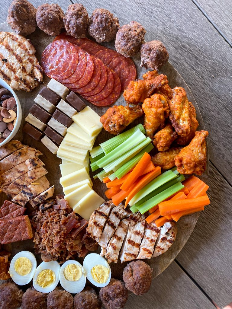 The ultimate protein charcuterie board
