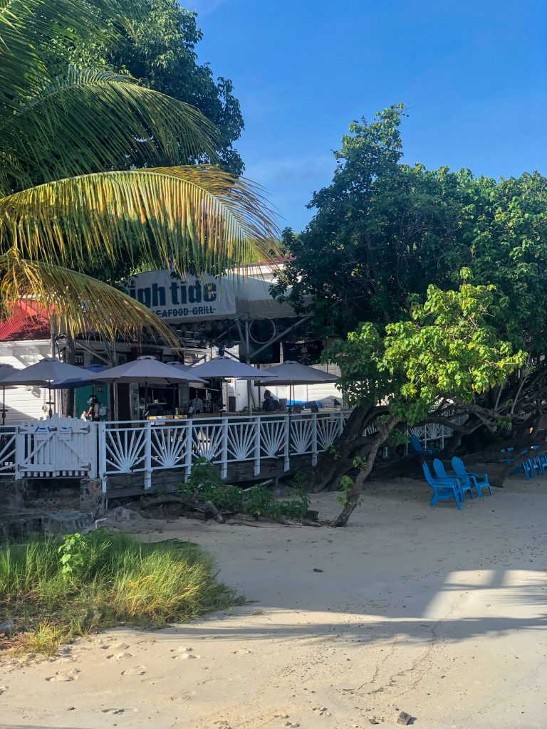 High Tide Restaurant St. John, USVI