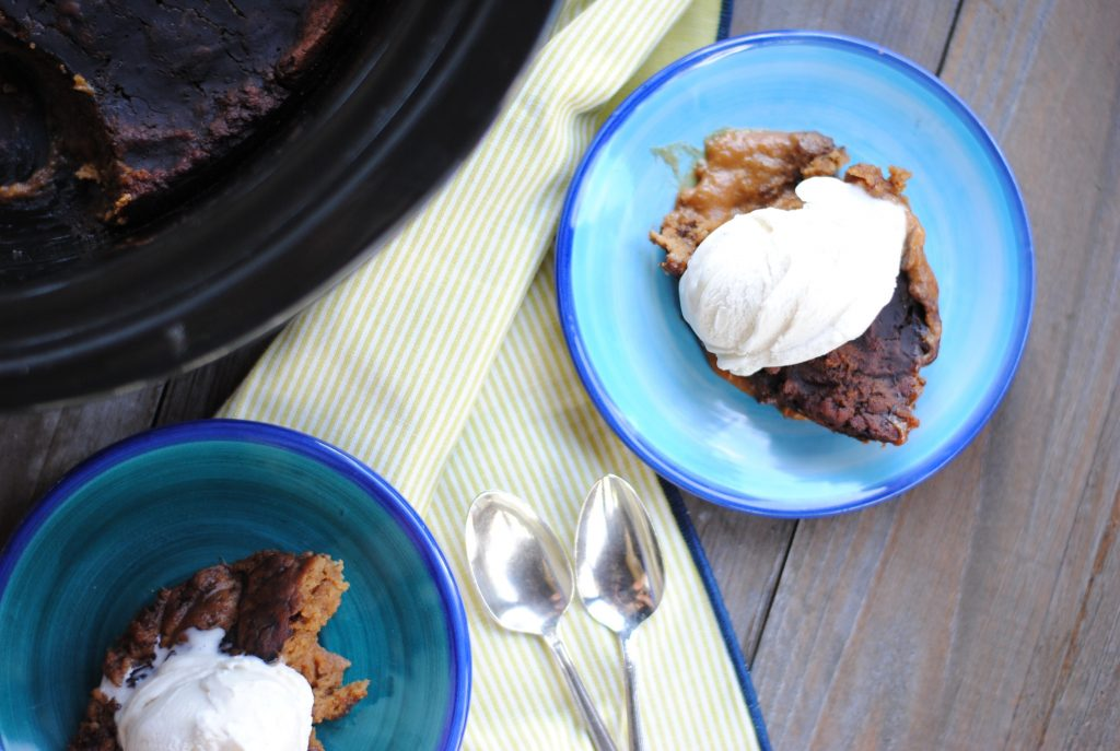 Nut-free Slow Cooker Chocolate Cake