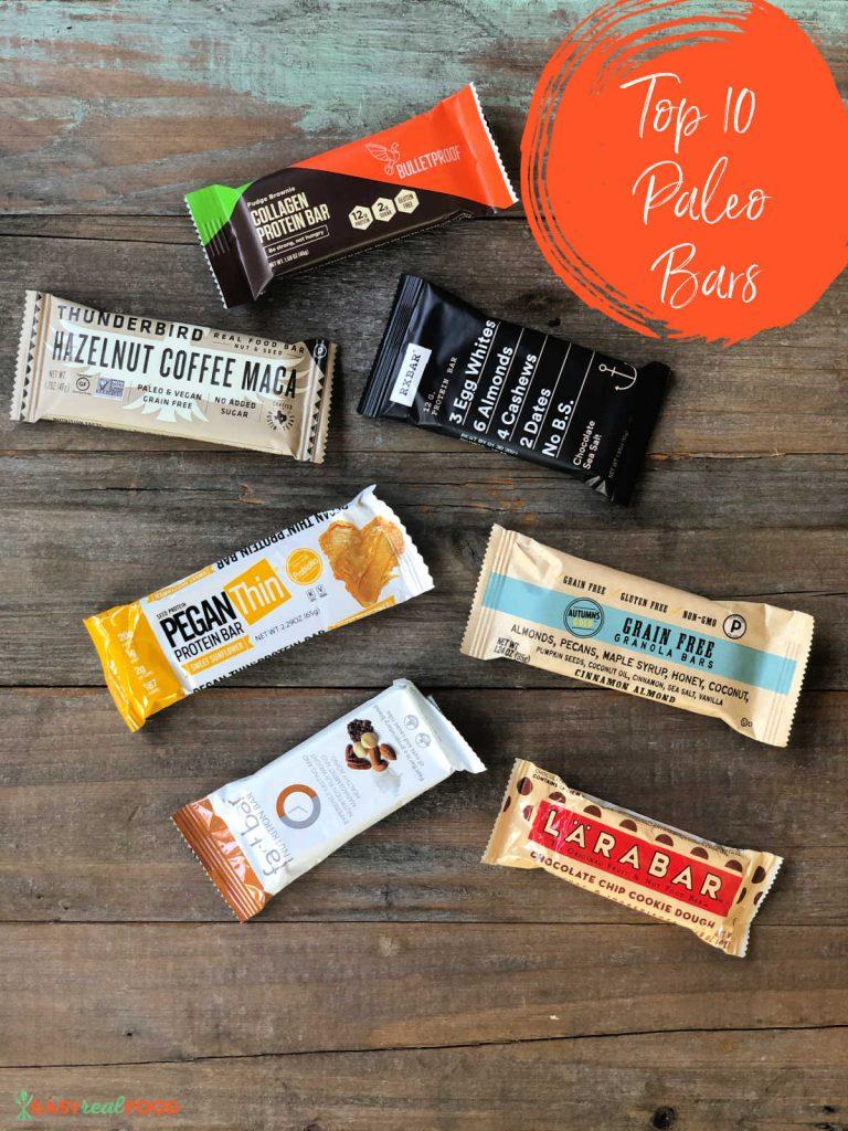 best 10 grain free bars