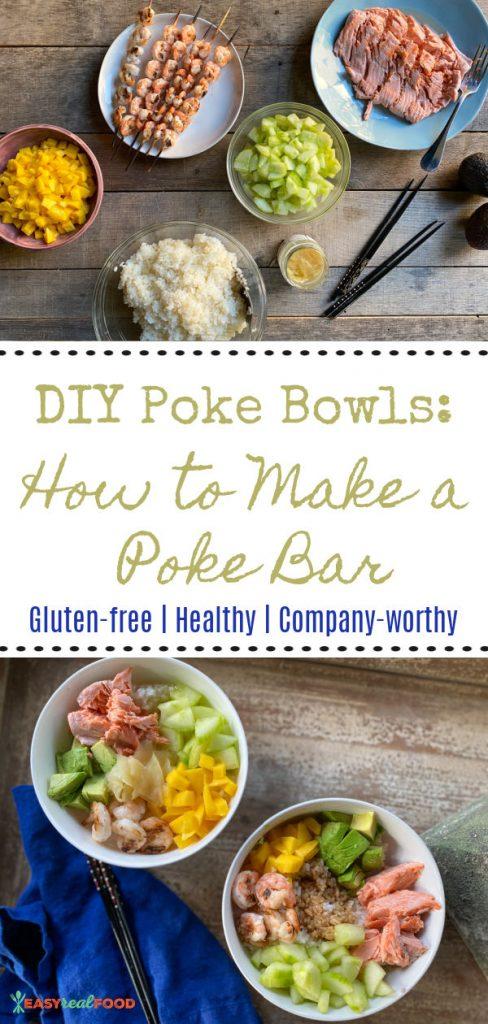 DIY poke bowls: how to make a poke bar