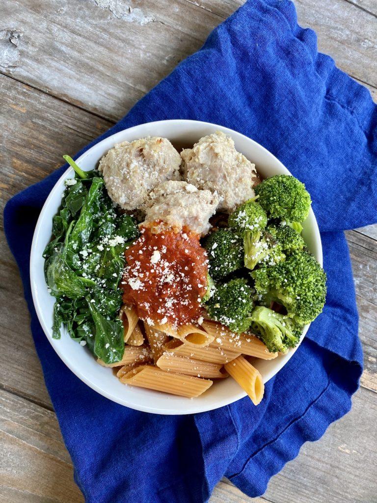 Italian grain bowl