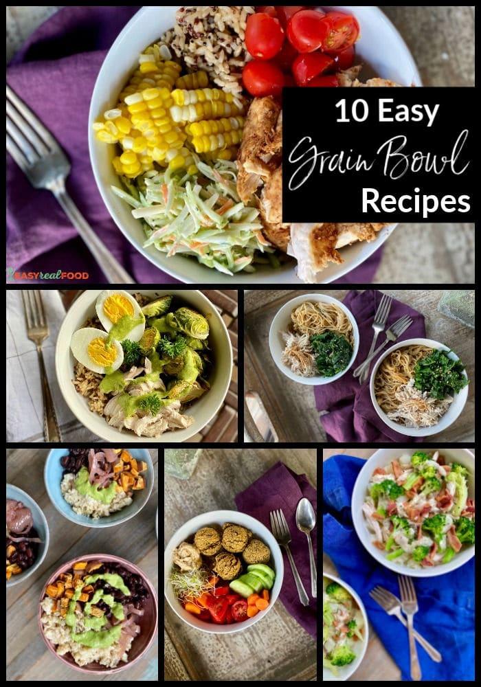 10 easy grain bowl recipes
