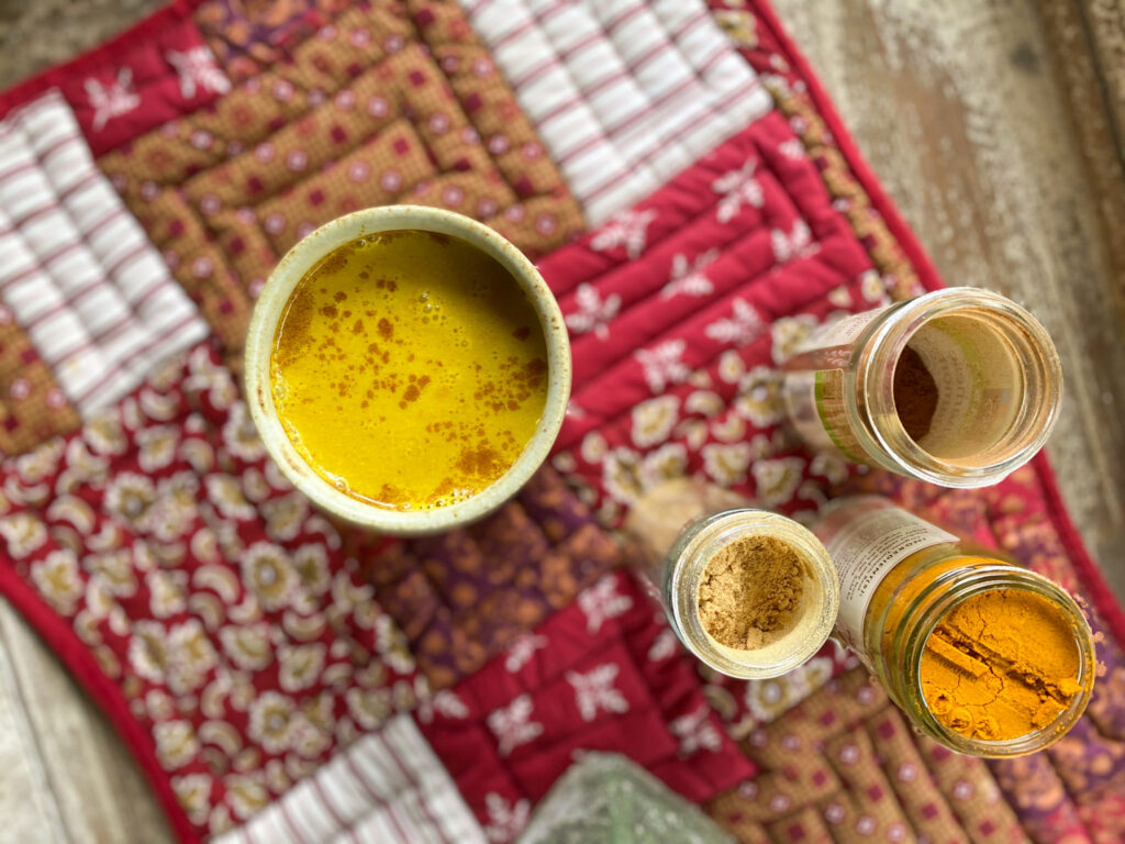 turmeric tea also known as golden milk