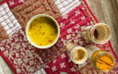 Why I Drink Turmeric Tea (Golden Milk)