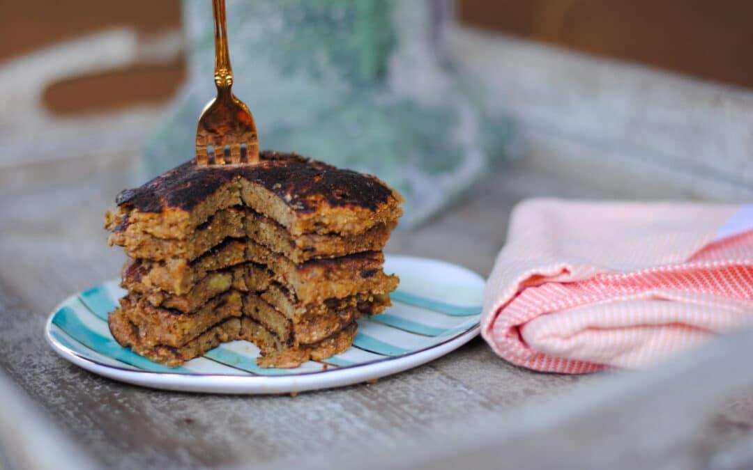 Healthy Grain-free Sweet Potato Pancakes