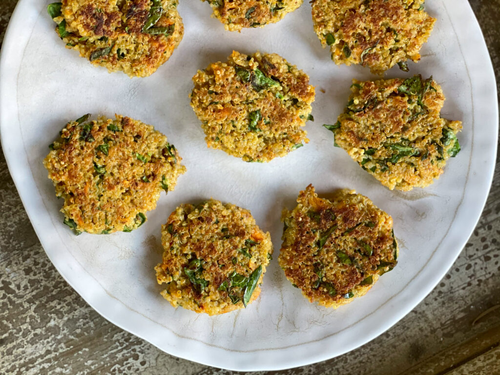 veggie quinoa patties