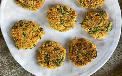 Grain-free Spinach Quinoa Patties