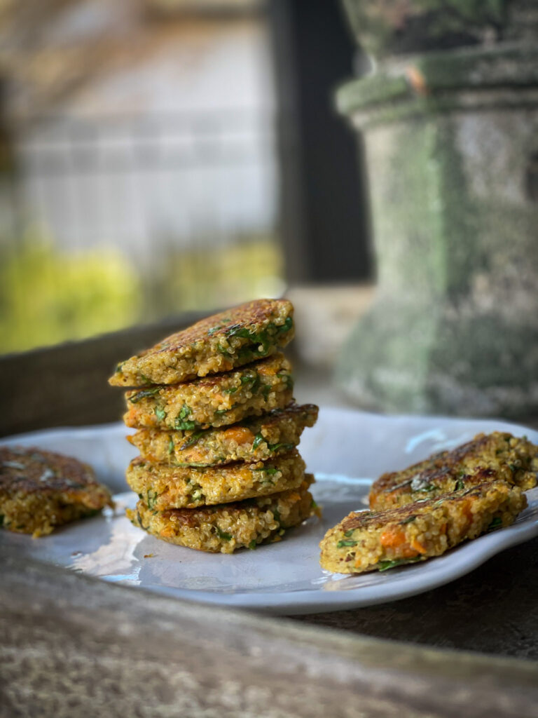 tasty grain-free patties made with superfoods