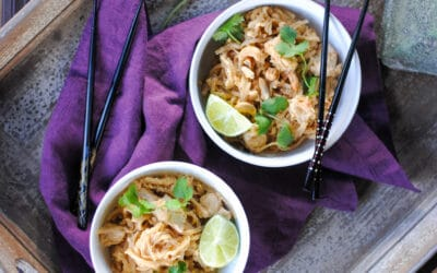 Easy Pad Thai Recipe without Peanuts