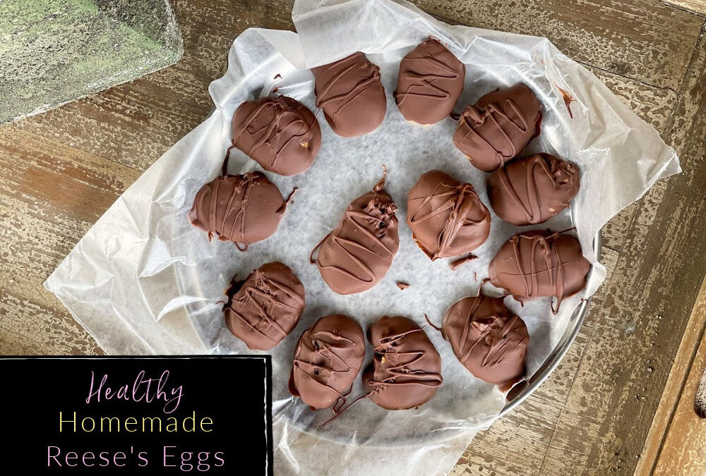 Healthy Homemade Reese's Eggs (Nut-free Version)