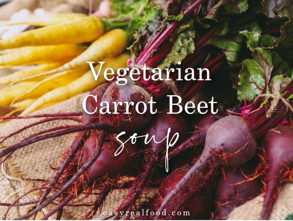 vegetarian carrot beet soup