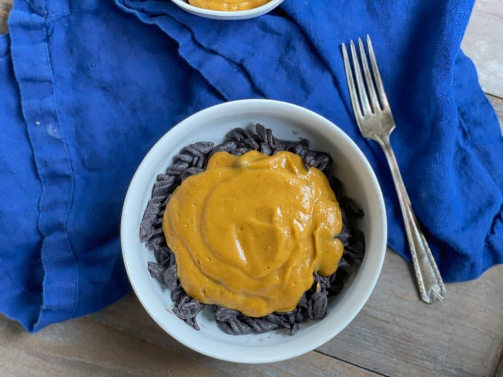 sweet potato vegan cheese sauce