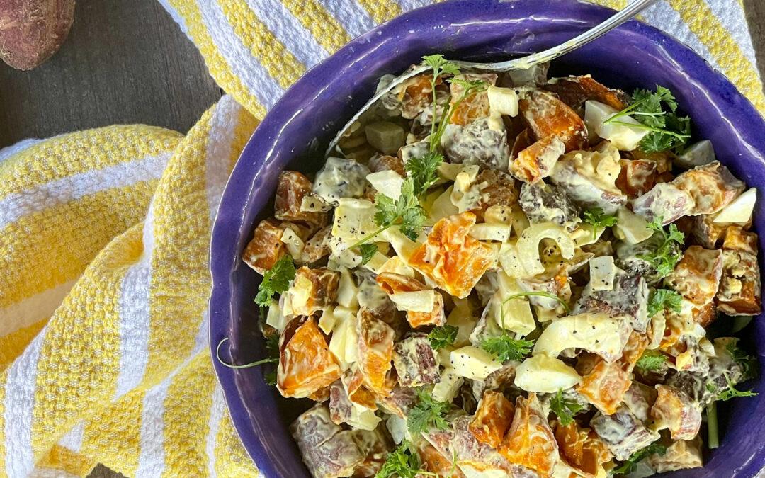 Healthy Cold Sweet Potato Salad