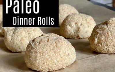 Paleo Dinner Rolls (Grain-free & Vegan)