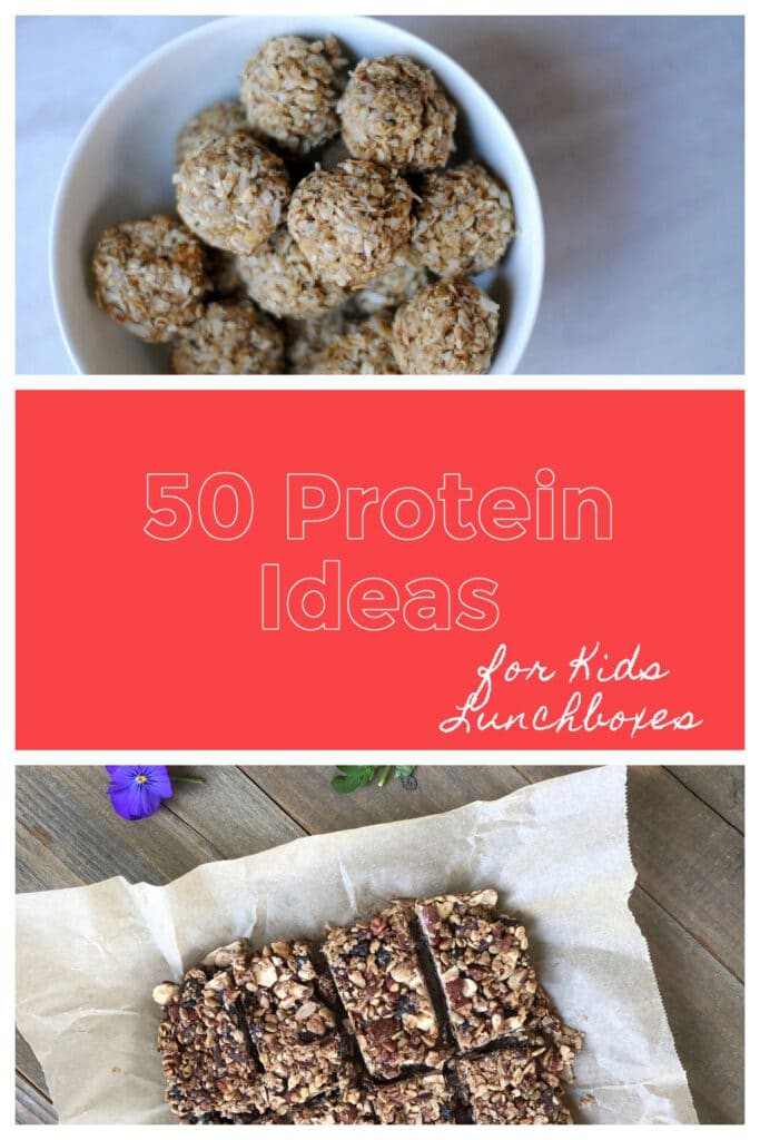 50 healthy protein ideas for kids lunches
