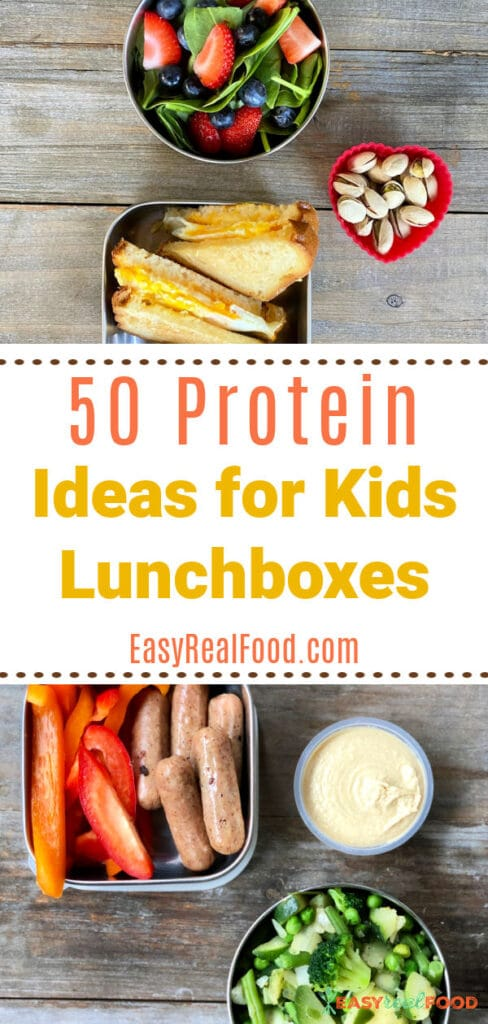 50 protein ideas for kids lunchboxes