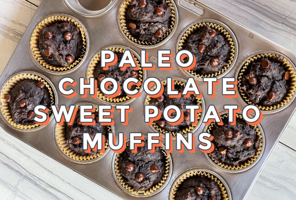 Paleo Chocolate Sweet Potato Muffins