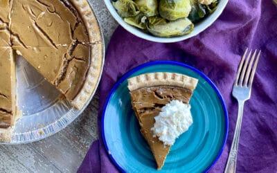 The Best Gluten Free Dairy Free Pumpkin Pie Recipe